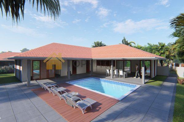 luxe nieuwbouw villa Zuurzak