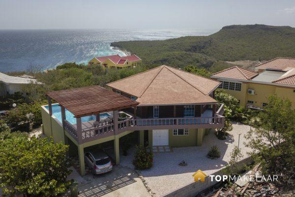 Bijzondere Villa op hoog punt van Cas Abou